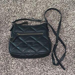 Dooney & Bourne Womans Black Cross Body Bag